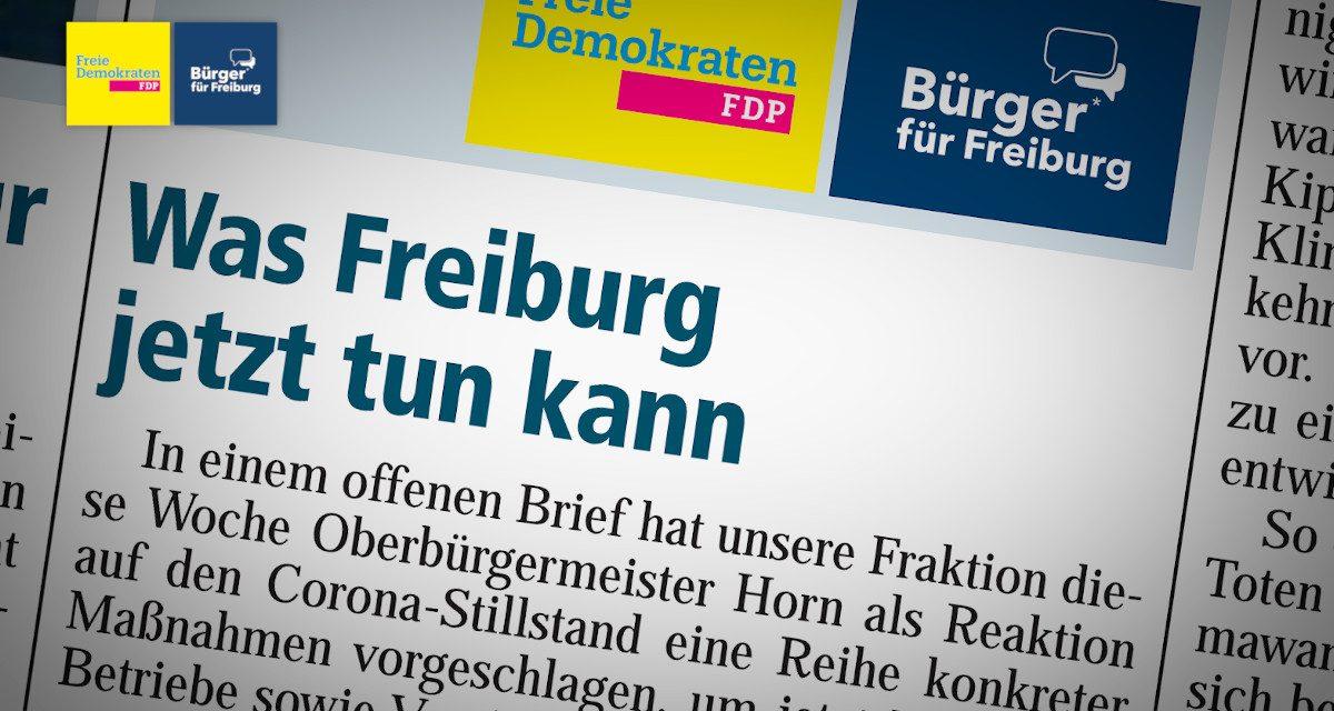 Amtsblatt: Was Freiburg jetzt tun kann