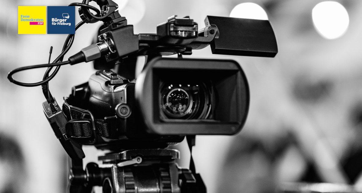 Zeit für mehr Transparenz: Live-Streams aus dem Gemeinderat