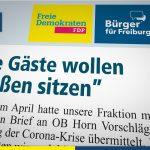 """Amtsblatt: """"Die Gäste wollen draußen sitzen"""""""