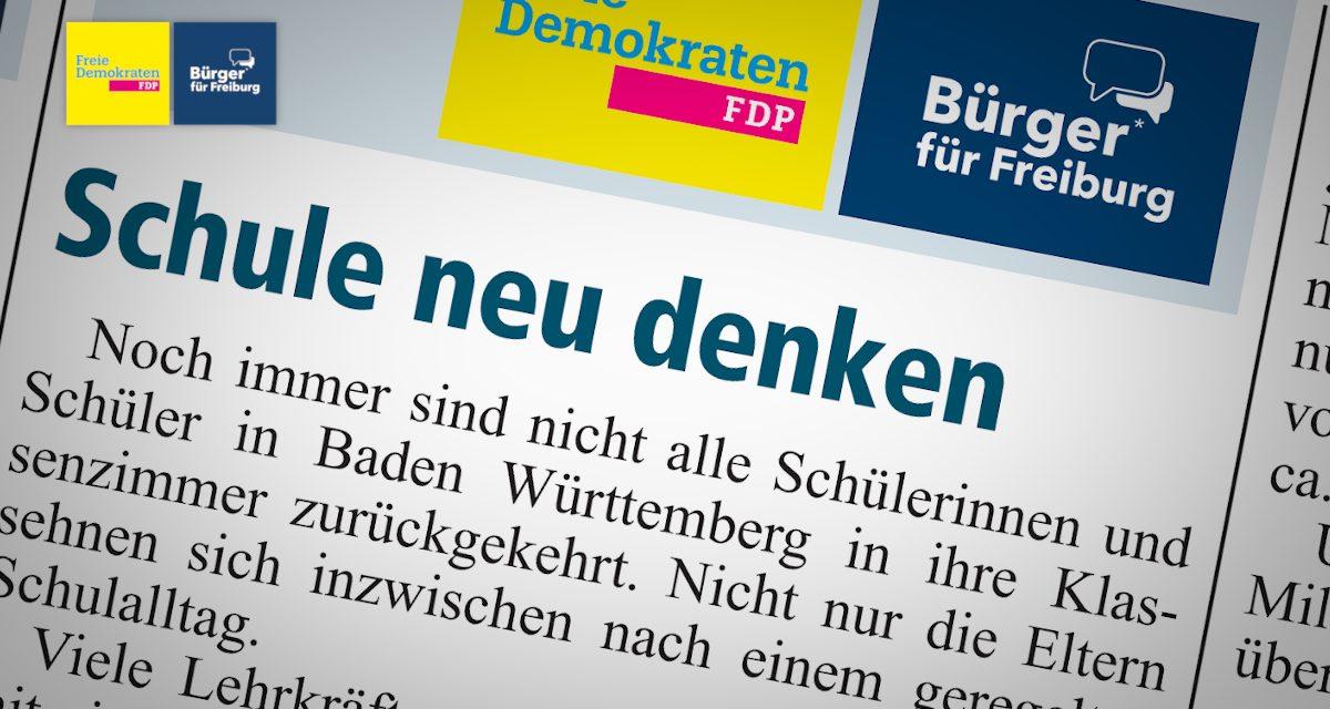 Amtsblatt: Schule Neu Denken