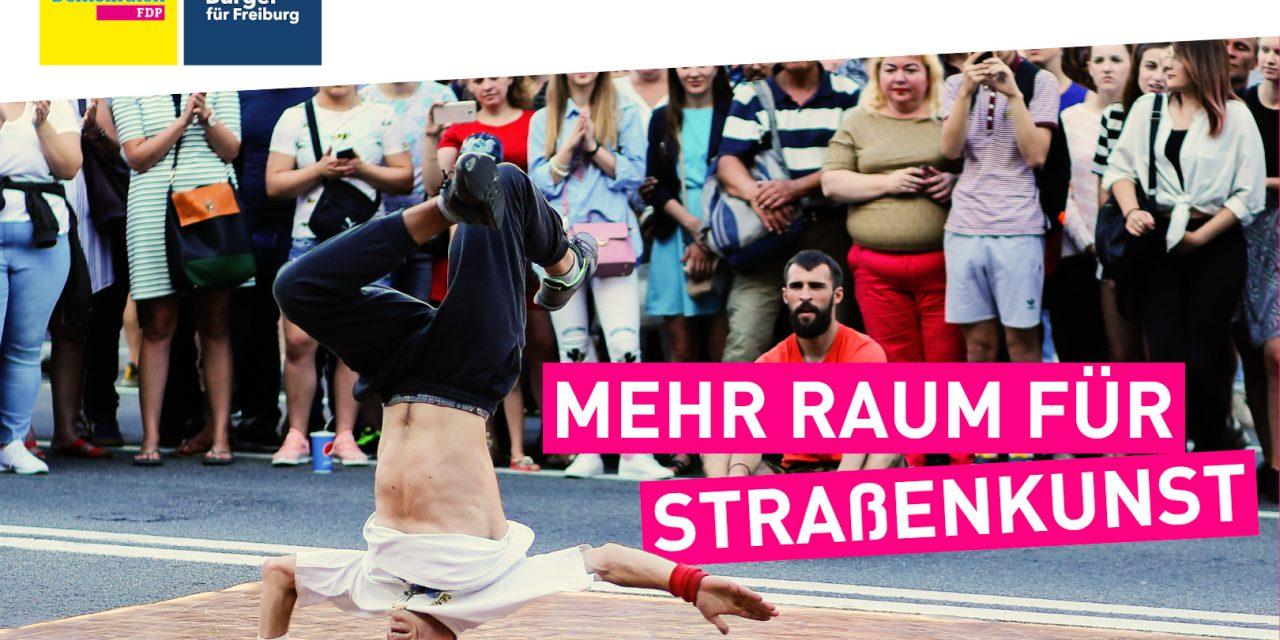 Sascha Fiek zur Straßenmusik und Straßenkunst