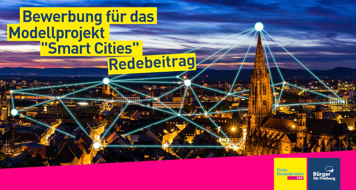 """Redebeitrag: Sascha Fiek zur Bewerbung für das Modellprojekt """"Smart Cities"""""""