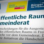 Amtsblatt: Der öffentliche Raum im Gemeinderat