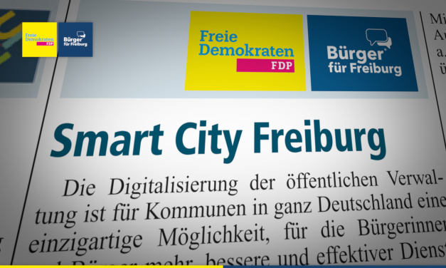 Amtsblatt: Smart City Freiburg