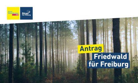 Antrag: Freiburger Friedwald