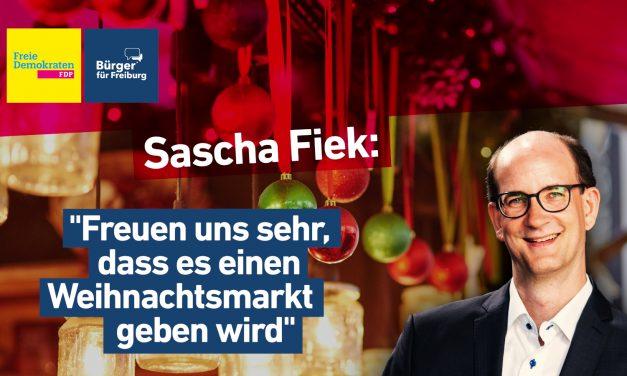 Video: Sascha Fiek zum Weihnachtsmarkt