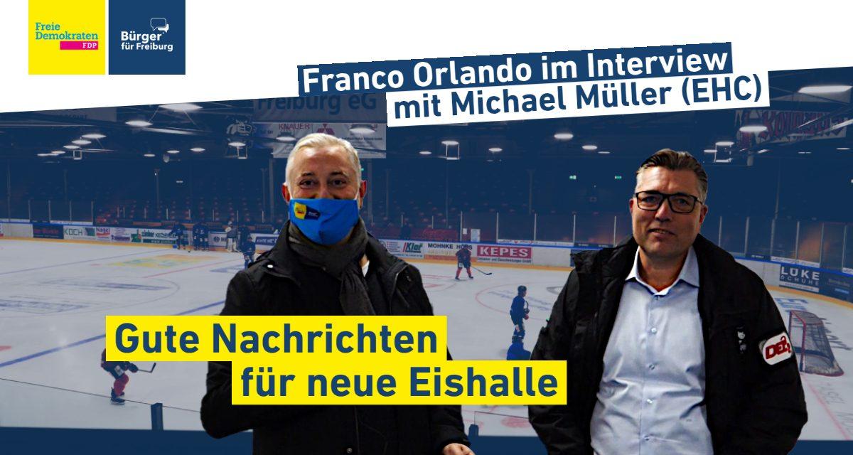Video: Franco Orlando im Interview mit Michael Müller (EHC Freiburg)