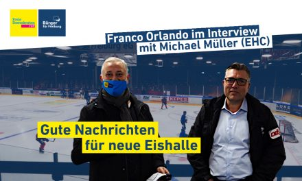 Video: Franco Orlando im Interview mit Michael Müller (EHC Freiburg)