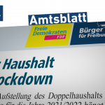 Amtsblatt: Haushalt im Lockdown