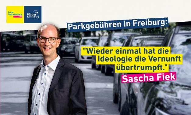 Redebeitrag: Sascha Fiek zur Parkraumbewirtschaftung