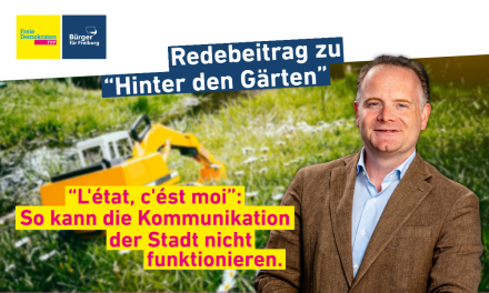 "Rede: Christoph Glück zum Baugebiet ""Hinter den Gärten"""