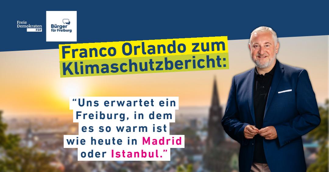 Franco Orlando zum Klimabericht